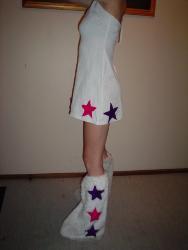 side on - my rave dress
