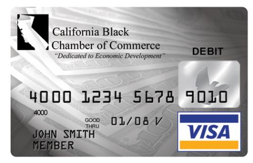 Debit Card - One of many different styles of MasterCard and Visa debit cards that deduct money from your checking or savings account.
