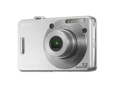 The Sony Cybershot DSC W80 - A picture of the Sony Cybershot DSC W80.