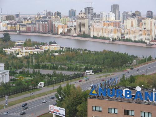 astana the capital city - this is kazahstan looks like....