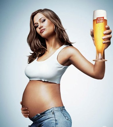 Beer belly - Beer belle?