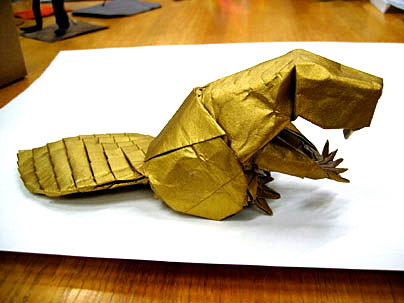 Origami. - It is a creative and interesting art.