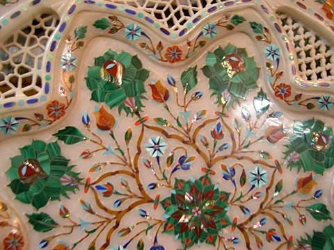 Pietra Dura Inside Taj Mahal