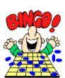 Bingo - We love to play bingo, to win and get the pot money.