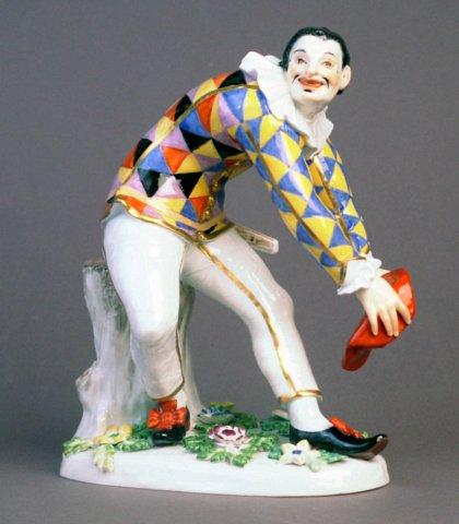 Porc. Harlequin - Porcelain Harlequin