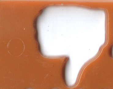 Thumbs Down -  This is a 3D picture of the thumbs down symbol.