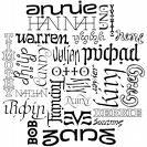 names  - names around the world