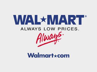 Wal-Mart - this is an image logo of Wal-Mart
