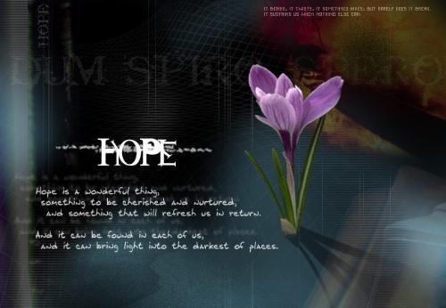Hope - Hope is...
