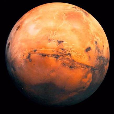 Mars - During July and August Mars will be the closest to the Earth than it has been in all of recorded history.