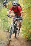 biking - uphill mountain biking.... tiring and thrilling eh!
