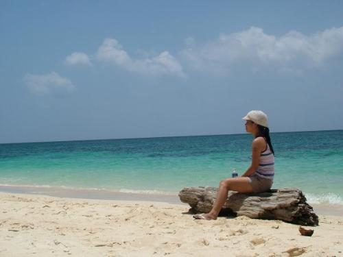 wondering - Taken at an island near Boracay. Just wondering...