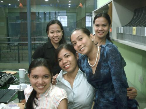 My officemates - My officemates :)