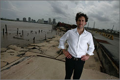 New Orleans Developer Sean Cummings - New Orleans developer wants to infuse new life into area ravaged by Hurricane Katrina