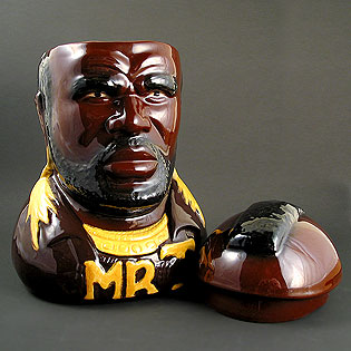Mr. T Cookie Jar... I want this... - Cookie Jar