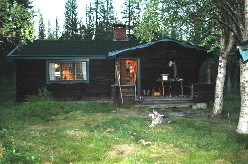 My house - This is my house up in the Swedish mountin