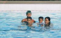 love to swim - swimming pool