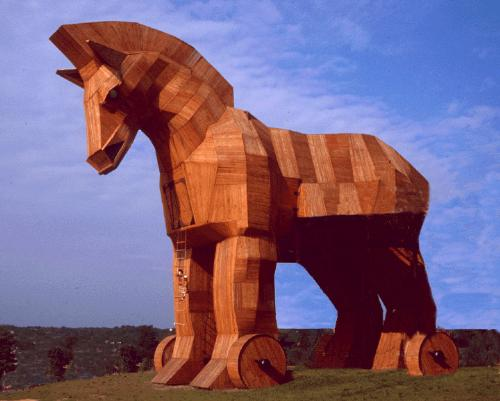 Trojan horse - A copy of the trojan Horse