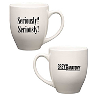 "grey's anatomy - ""seriously!"" is one of the words that is widely used in grey's Anatomy."