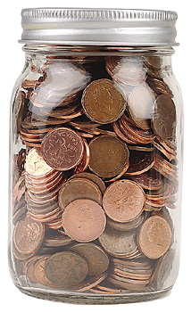 saving change - It really adds up!!