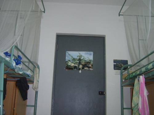 My room - the picture is my dorm.