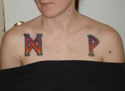 Tags: tattoos , runes , norse , chest piece