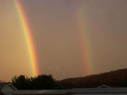 Double Rainbow - A Neat Double Rainbow.