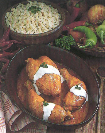 Paprika Chicken - This is Paprika Chicken. Mmm... really good... one of my favourites!