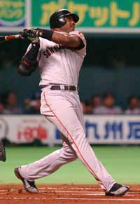 Photo of Barry Bonds-Baseball Player - image of a baseball player
