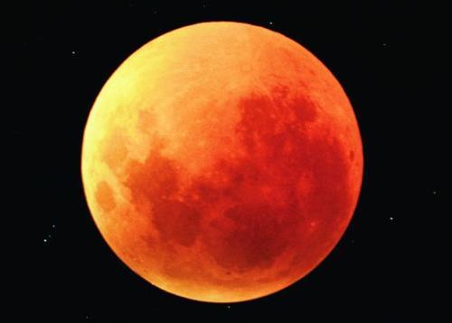 lunar eclipse - total lunar eclipse