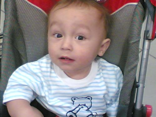 my son - he used to make a fake cough and fake crying to get our attention