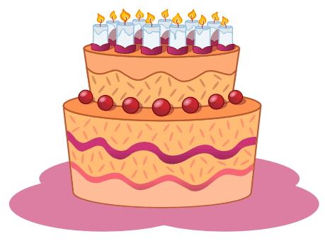 cake - birthday cake