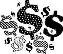dollar signs - money!