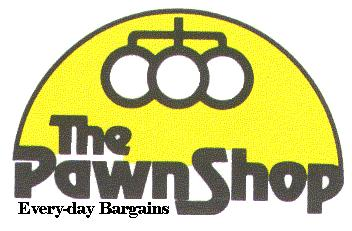 Every-day Bargains - pawn broker symbol and logo.