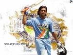 MS Dhoni - This is the pic of our hero i.e. MS dhoni