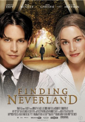 finding neverland - cover for d movie finding neverland.