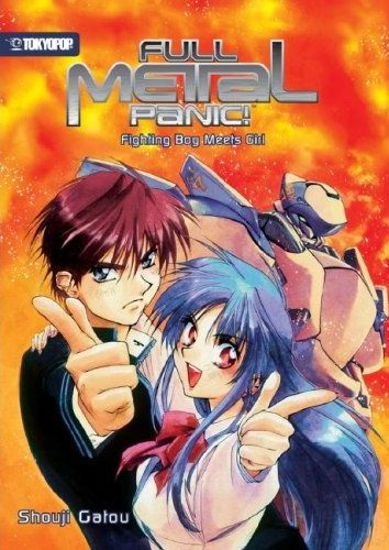 Full Metal Panic! Fighting Boy Meets Girl english  - Shouji Gatou's Full Metal Panic! novel volume 1. English version in stores now! Go buy it :P
