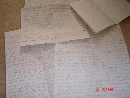 letters - letters and writing them