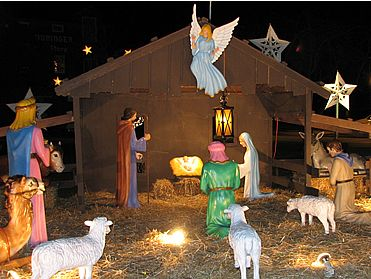 Christmas - The Birth of Christ... - A simple picture that represents the birth of Jesus Christ. December 25 Christmas Birth of our Savior