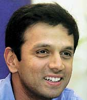 Dravid - Dravid, the captain.