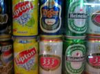 canned drinks -  the trend of using cans in beverages and drinks have revolutionize the world