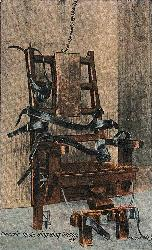 Electric chair - Electric Chair in Sing Sing Prison
