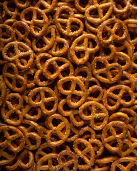 Pretzels - I really, really wanted those. :(