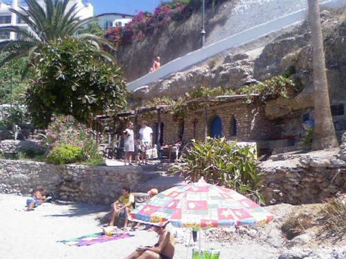 Nerja Beach - This was taken this year in Nerja in Southern Spain. Its a fab beach and lovely area to visit.
