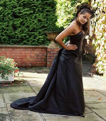Black Wedding Dress - Wear black to your wedding!