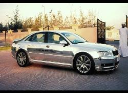 Pure Silver car, What is yours - This ia AUDI A8 made of pure silver. Isn't that cool.