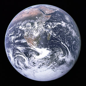 Earth - Picture of the earth from outer-space.