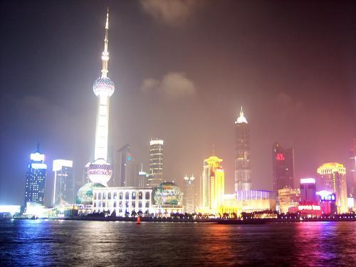 shanghai night view - Its a wonderful city.