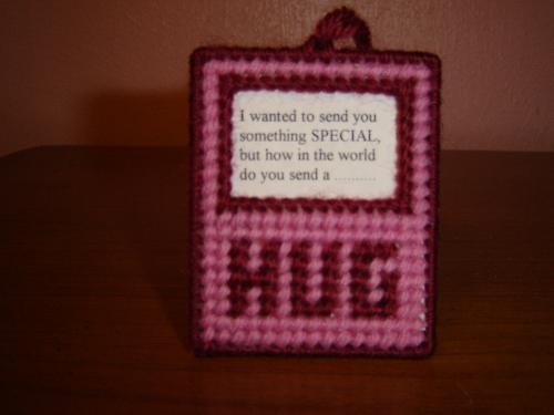 Hug - Another craft I enjoy making.