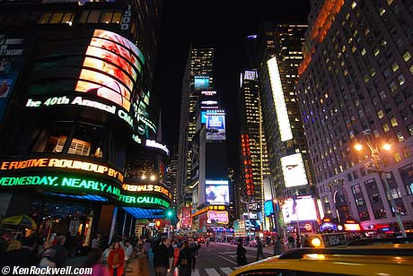 Time-Square - the most famous place in nys,america have you visit